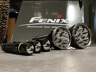 Fenix flashlights