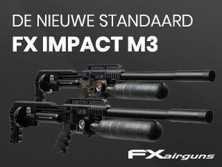 De FX Impact M3 zet een nieuwe standaard voor luchtgeweren