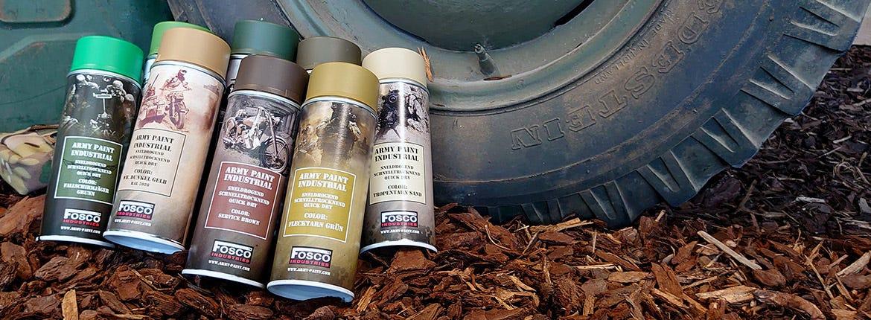 Create your own camo with Fosco Army Paint