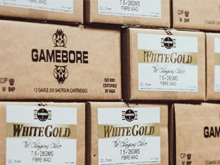 Gamebore White Gold shotgun cartridges
