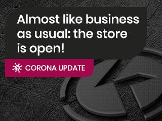 Corona update: almost back to business as usual!