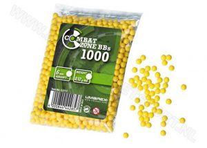 BB Combat Zone Yellow 6 mm 0.12 gram 1000 pcs