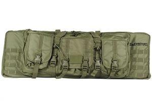 "Geweerfoudraal Valken Double Rifle 42"" Olive Green 107x30"
