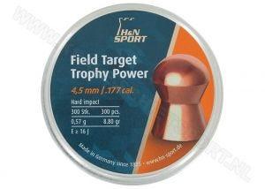 Luchtdrukkogeltjes H&N Field Target Trophy Power 4.5 mm 8.8 grain