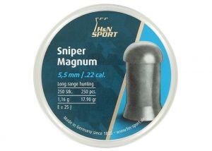 Luchtdrukkogeltjes H&N Sniper Magnum 5.5 mm 17.9 grain