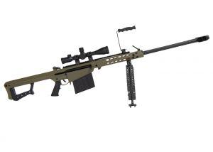 Miniature Goatguns Mini Barrett 82A1 .50 Olive Drab