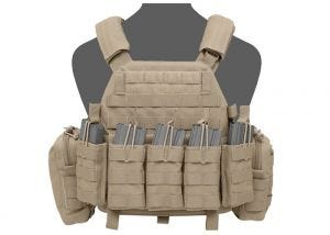 Plate Carrier Warrior Assault Systems DCS 5.56 Coyote Tan