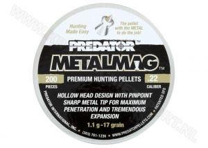 Luchtdrukkogeltjes Predator Metalmag 5.5 mm 17 grain