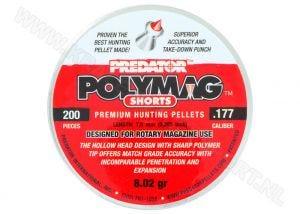 Luchtdrukkogeltjes Predator Polymag Shorts 4.5 mm 8.02 grain