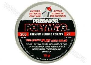 Luchtdrukkogeltjes Predator Polymag 5.5 mm 16 grain