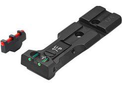 Adjustable Sight Set LPA WXT Fiberglass Black