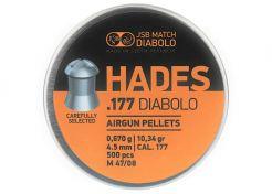 Luchtdrukkogeltjes JSB Hades 4.5 mm 10.34 grain