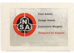 Airgun Slugs Nielsen 5.5 mm HPDB 24.8 grain (.2175)
