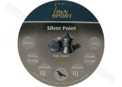 Airgun Pellets H&N Silver Point 4.5 mm 11.57 grain