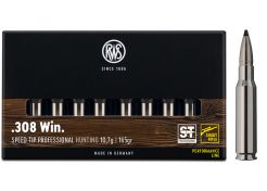 Kogelpatronen RWS .308 Win Speed Tip Professional Short Rifle 165 grain