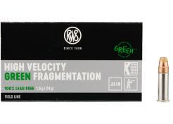 Kogelpatronen RWS High Velocity Green Fragmentation .22 LR 24 grain