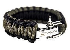Bracelet Shadow Elite Paracord Survival OD Green