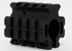 Loopmontage UTG Deluxe Quad-rail Gas Block MNT-GBQRO4A