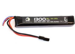 Batterij Nuprol LiPo 11.1v 1300mAh Stick