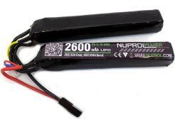 Batterij Nuprol LiPo 11.1v 2600mAh Twin-Stick