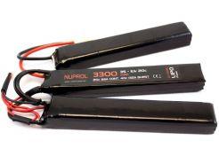Batterij Nuprol LiPo 11.1v 3300mAh Nunchuck