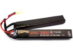 Batterij Nuprol LiPo 7.4v 3300mAh Nunchuck