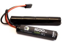 Batterij Nuprol NiMH 8.4v 1600mAh Nunchuck