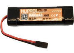 Batterij Nuprol NiMH 9.6v 1600mAh Small