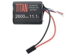Battery Titan Li-ion 11.1V 2600mAh Brick Mini-Tamiya