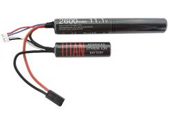 Battery Titan Li-ion 11.1V 2600mAh Nunchuck Mini-Tamiya
