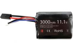 Battery Titan Li-ion 11.1V 3000mAh Brick Mini-Tamiya