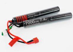 Batterij Titan 7.4v 7000 mAh Nunchuck T-Plug Deans (1052)