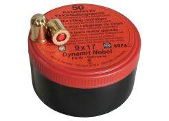 Knalpatronen RWS 9x17 mm Knal Red