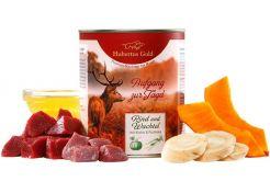 Canned Food Hubertus Gold 'Aufgang zur jagd' Quail/Beef