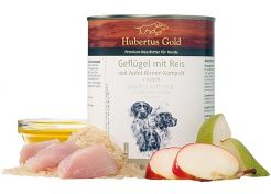 Canned Food Hubertus Gold Menu Poultry/Rice