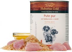Canned Food Hubertus Gold Menu Turkey/Rice
