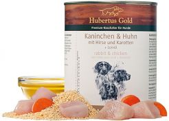 Canned Food Hubertus Gold Rabbit/Chicken