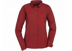 Blouse Blaser Sergia Ladies Red/Brown