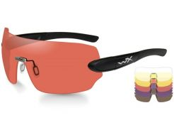 Glasses Wiley X Detection Clear/Yellow/Orange/Purple/Copper Black Frame
