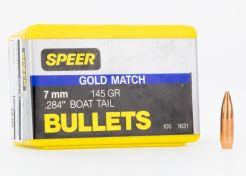 Kogelkoppen Speer 7 mm 145 grain .284'' Boat Tail (100 stuks) #1631
