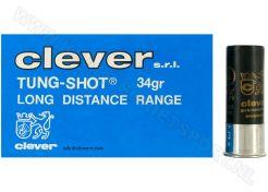 Hagelpatronen Clever Mirage TUNG-SHOT 12-70-4 34 gram