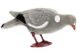 Pigeon Decoy Flocked Foraging