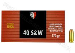 Kogelpatronen Fiocchi .40 S&W FMJ 170 grain