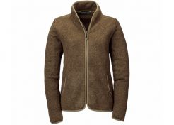 Fleece Vest Blaser Bettina Ladies Brown Melange