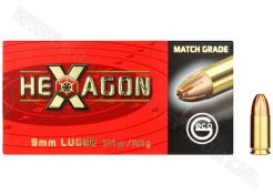 Kogelpatronen Geco Hexagon 9 mm 124 grain
