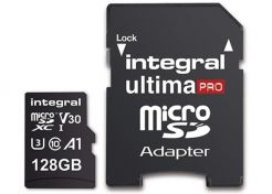 Geheugenkaart Integral UltimaPro MicroSD 128GB
