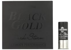 Hagelpatronen Gamebore Black Gold Dark Storm Steel 12-70-4 30 gram