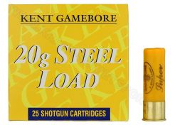 Hagelpatronen Gamebore Steel Load kal. 20 24 gram