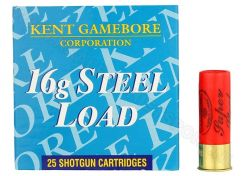 Hagelpatronen Gamebore Steel Load kal. 16 26 gram