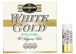 Hagelpatronen Gamebore White Gold Pro Steel kal. 12 28 gram